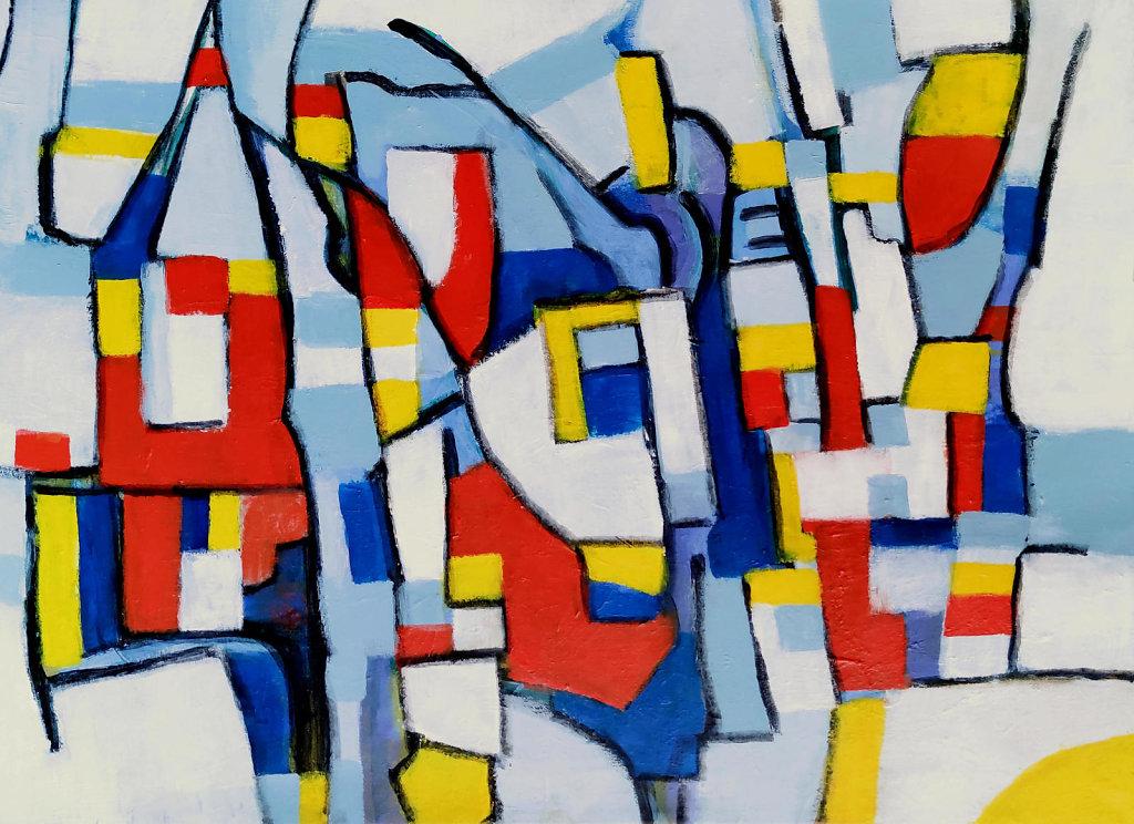 Hommage an Mondrian